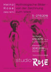Heinz Rose – Mythologische Bilder im studioRose Schondorf