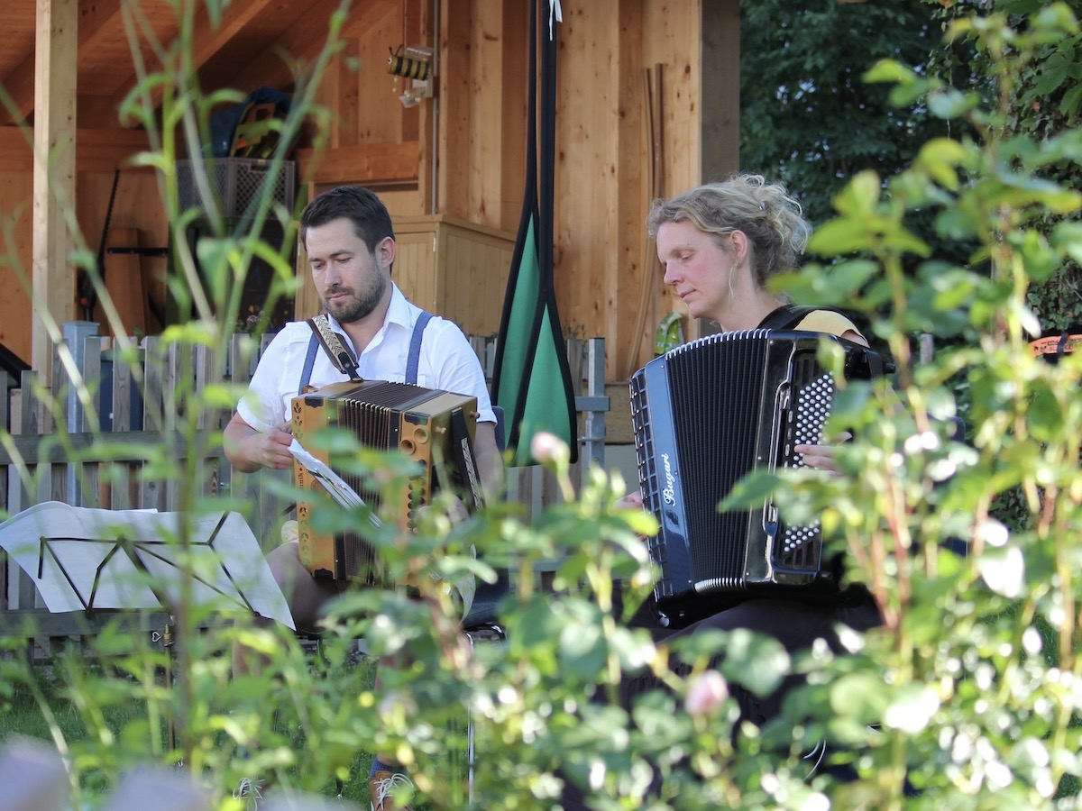 Annette Rießner und Johannes Sift