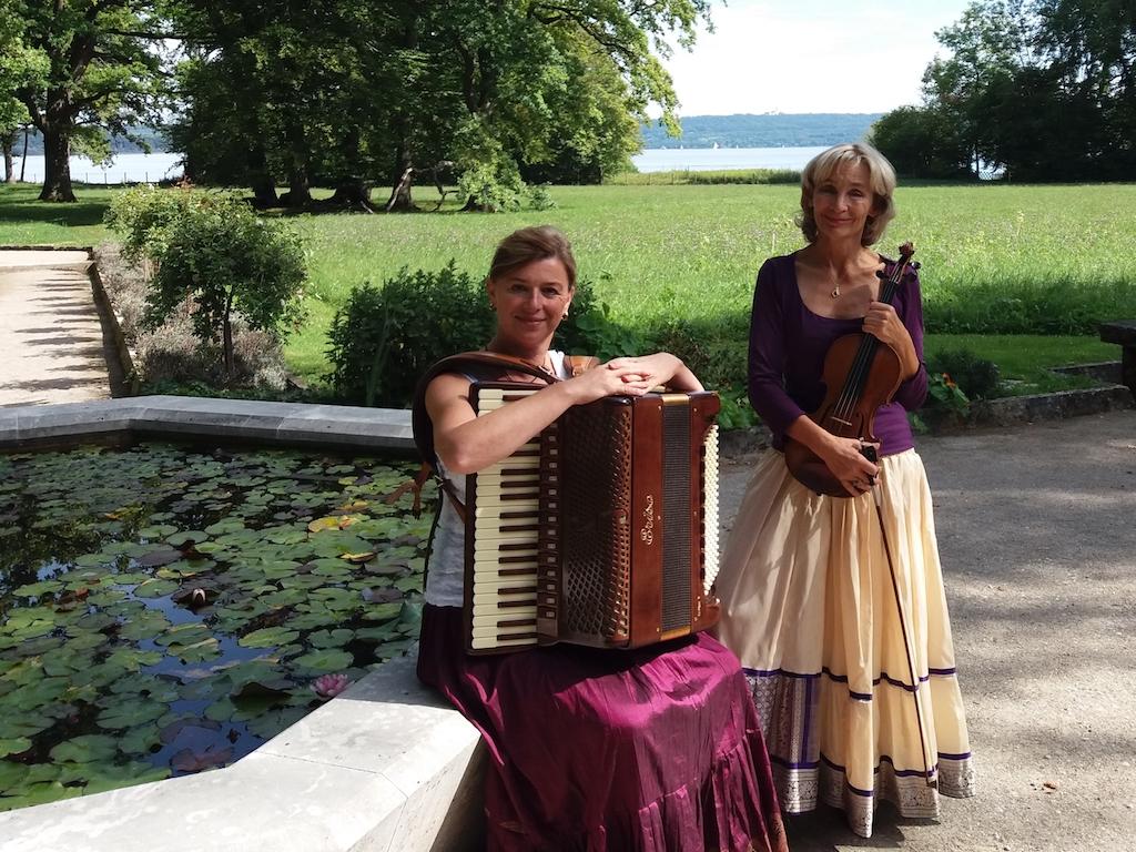 Das Duo Amourette, Gitti Vockinger und Francesca Rappay