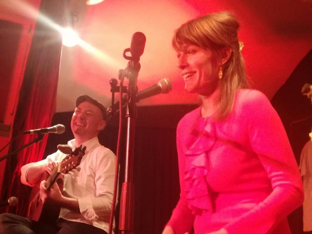 Stefan Noelle und Luise Loue im studioRose, schondorf