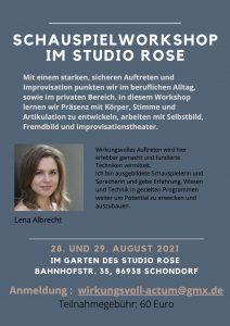 Workshop Lena Albrecht